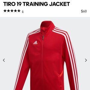 Adidas Red Track Jacket